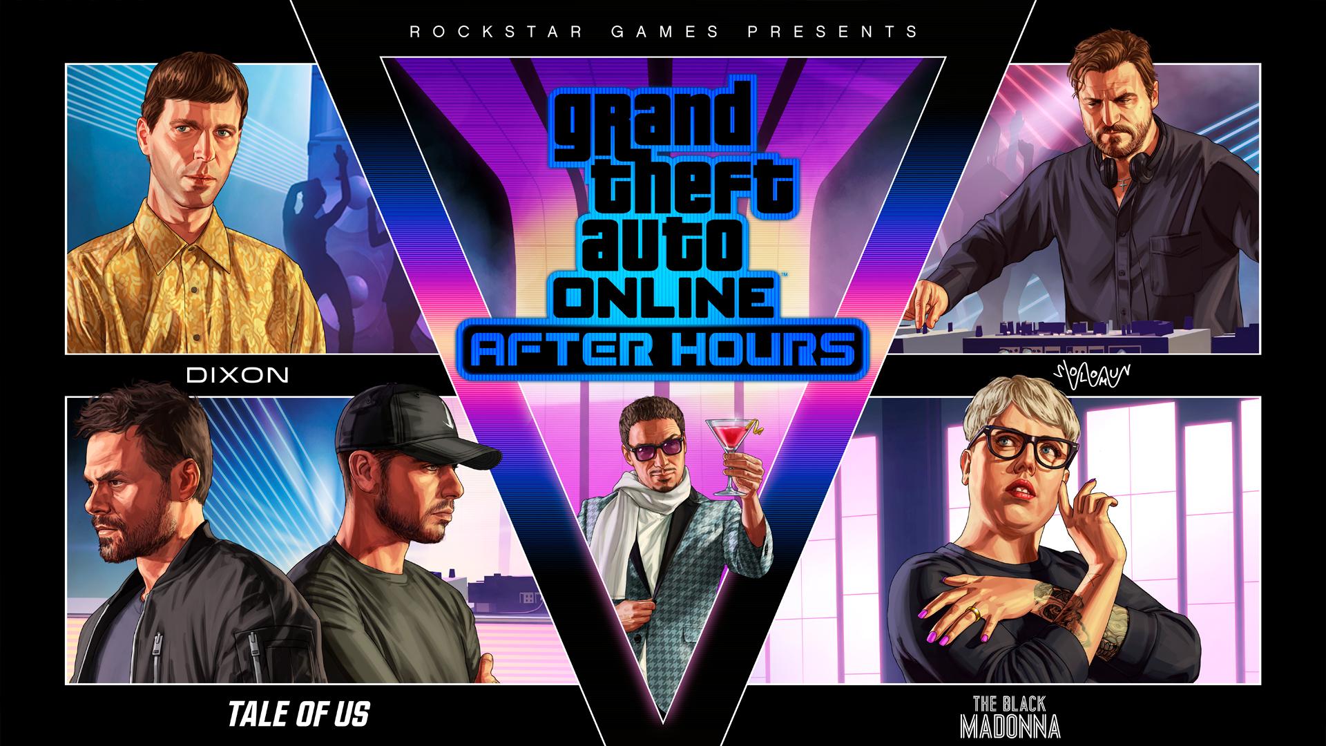 Вышло обновление «Ночная жизнь» для GTA Online