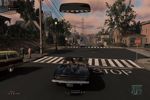 дорожный перекресток