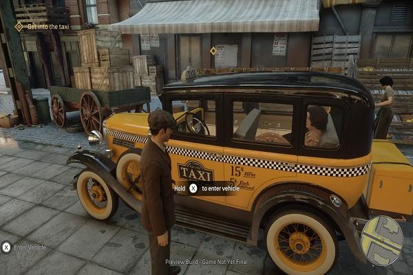 герой у такси