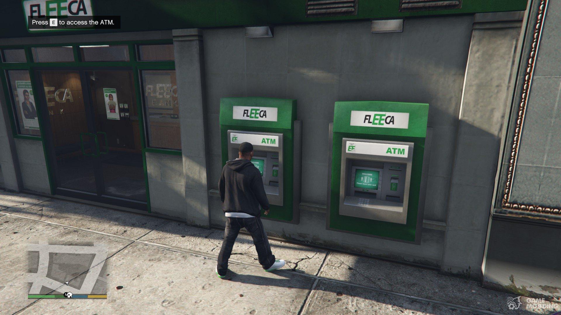 поход на банкомат