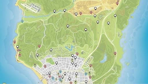 схемы карты