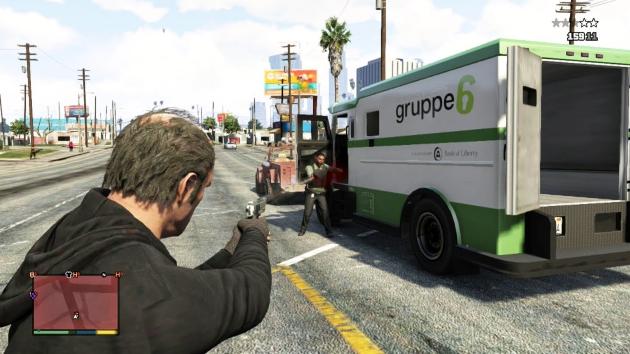 стрельба по фургону