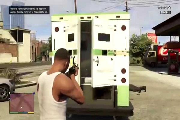 стрельба по машине