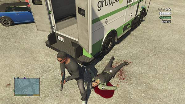 ограбления фургона