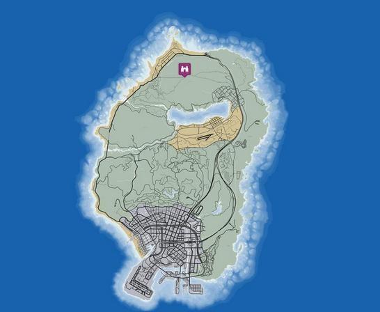 карта горы