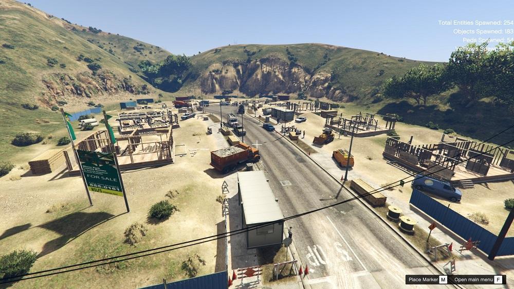 строительства бульвара