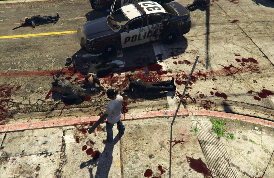 полиция мертва