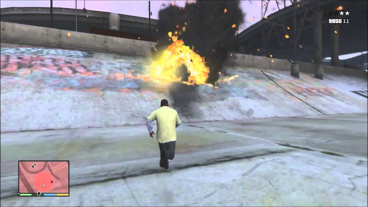 взрыв на районе