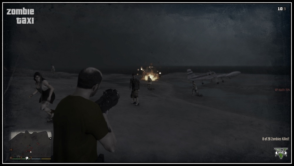 стрельба по монстрам
