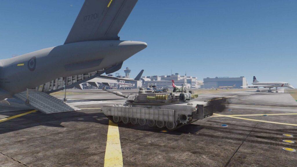заехать на танке