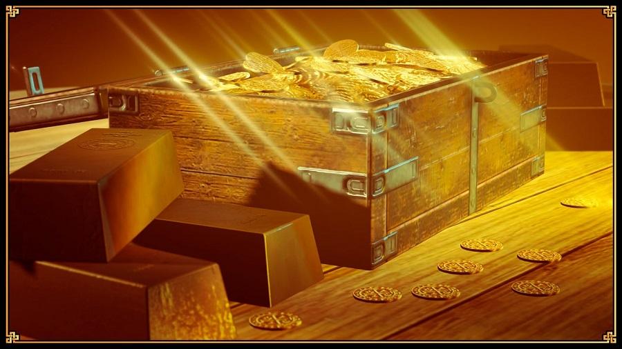 ящик монет