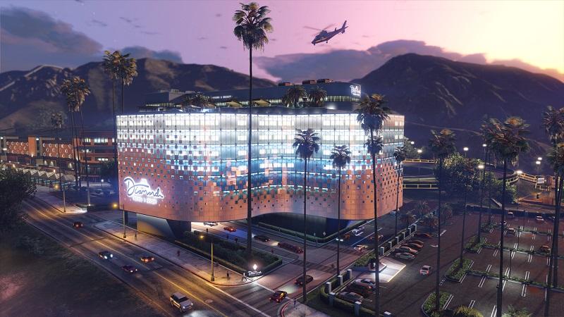здание казино