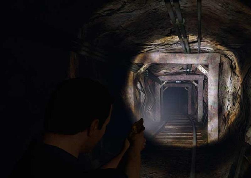 целиться в подземелье