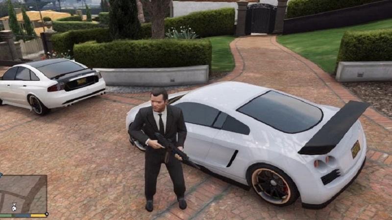 белые машины