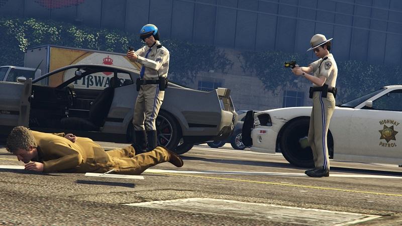 арест на дороге
