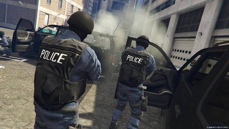полиция в работе
