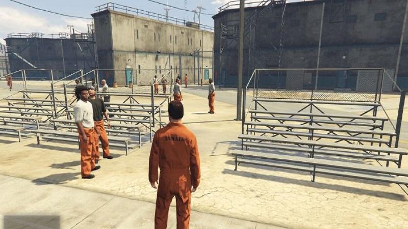тюрьма в игре