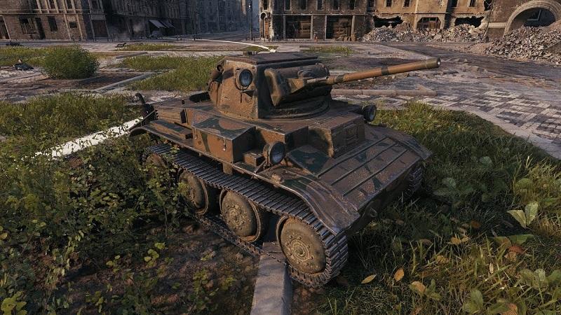 редкий танк