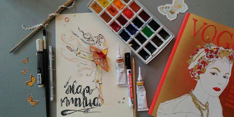 играть красками