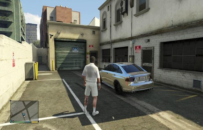 маленький гараж