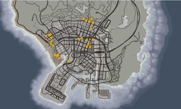 карта шлюхи