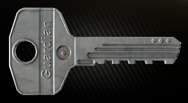 ключ лежит