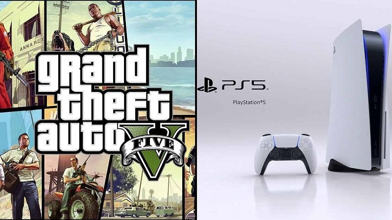 GTA V на Playstation 5